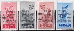 Belgie   .  OBP  .    PRE 803/806     .   **  .   Postfris . / .  Neuf Avec Gomme Et Sans Charnière - Typos 1936-51 (Petit Sceau)