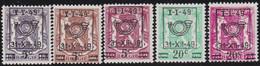 Belgie   .  OBP  .    PRE  798/802     .   **  .   Postfris . / .  Neuf Avec Gomme Et Sans Charnière - Typos 1936-51 (Petit Sceau)