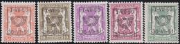 Belgie   .  OBP  .    PRE  604/608     .   **  .   Postfris . / .  Neuf Avec Gomme Et Sans Charnière - Typos 1936-51 (Petit Sceau)