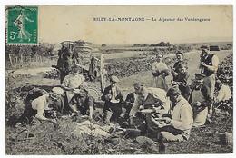 FRANCE - RARE - RILLY-LA-MONTAGNE - Le Déjeuner Des Vendangeurs - Debut 1900 - Rilly-la-Montagne