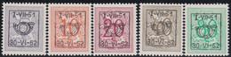 Belgie   .  OBP  .    PRE  614/619    .   **  .   Postfris . / .  Neuf Avec Gomme Et Sans Charnière - Typos 1936-51 (Petit Sceau)