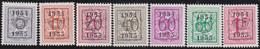 Belgie   .  OBP  .    PRE  645/651     .   **  .   Postfris . / .  Neuf Avec Gomme Et Sans Charnière - Typos 1936-51 (Petit Sceau)
