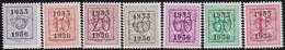 Belgie   .  OBP  .    PRE  652/658    .   **  .   Postfris . / .  Neuf Avec Gomme Et Sans Charnière - Typos 1936-51 (Petit Sceau)