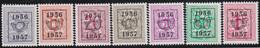 Belgie   .  OBP  .    PRE  659/665   .   **  .   Postfris . / .  Neuf Avec Gomme Et Sans Charnière - Typos 1936-51 (Petit Sceau)