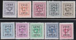 Belgie   .  OBP  .    PRE  676/685     .   **  .   Postfris . / .  Neuf Avec Gomme Et Sans Charnière - Typos 1936-51 (Petit Sceau)