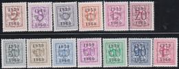 Belgie   .  OBP  .    PRE  686/698     .   **  .   Postfris . / .  Neuf Avec Gomme Et Sans Charnière - Typos 1936-51 (Petit Sceau)