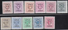 Belgie   .  OBP  .    PRE  725/735     .   **  .   Postfris . / .  Neuf Avec Gomme Et Sans Charnière - Typos 1936-51 (Petit Sceau)