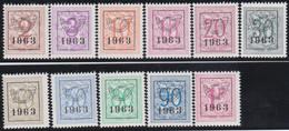Belgie   .  OBP  .    PRE  736/746     .   **  .   Postfris . / .  Neuf Avec Gomme Et Sans Charnière - Typos 1936-51 (Petit Sceau)