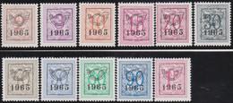 Belgie   .  OBP  .    PRE  758/768    .   **  .   Postfris . / .  Neuf Avec Gomme Et Sans Charnière - Typos 1936-51 (Petit Sceau)