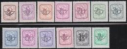 Belgie   .  OBP  .    PRE  780/792-P1     .   **  .   Postfris . / .  Neuf Avec Gomme Et Sans Charnière - Typos 1936-51 (Petit Sceau)