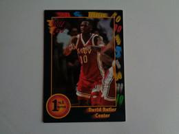 Card Basketball Basquetebol David Butler - Center - Altri