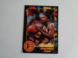 Card Basketball Basquetebol Greg Anthony - Guard - Altri