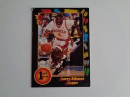 Card Basketball Basquetebol Larry Johnson - Center - Altri