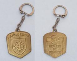 PORTE CLEFS, LANGUEDOC, UNA, REFLET DE FRANCE - Key-rings