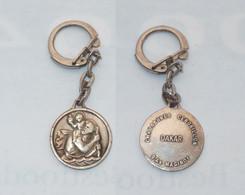 PORTE CLEFS, SAINT CHRISTOPHE, CHAUSSURES CENDRILLON A DAKAR - Key-rings