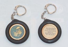 PORTE CLEFS, PNEU, TACOT 1901, Bar Le Bellevue à Beauvais - Key-rings