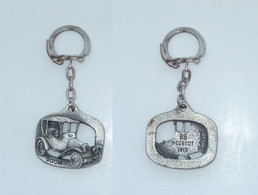 PORTE CLEF, PEUGEOT 1913, Signe METARGENT - Key-rings