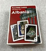 Albania Albanian Flag Deck Of Playing Poker Cards-ALBANIAN SOUVENIR CARDS-CUTE - Carte Da Gioco