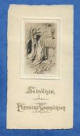 Image Religieuse Souvenir De Ma 1ère Communion Faite En L' Eglise Saint Laurent Le 10 Mai 1922 - 1 Angle Leg Abimé - Andachtsbilder