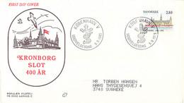 Denmark FDC 1985 Kronborg Castle (DD30-34) - FDC