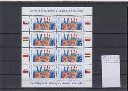 Tschechische Republik Michel Cat.No. Mnh/** Sheet 672 - Blocchi & Foglietti