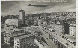 Aviation - Dirigeable LZ 127 Graf Zeppelin Au-dessus De Lausanne - Luchtschepen