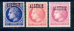 Algerien Algerie 1945 - Michel Nr. 225 - 227 ** - Ungebraucht
