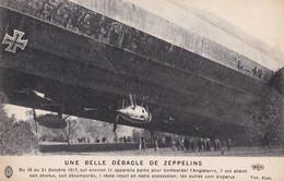 Bourbonne-les-Bains - Atterrissage Forcé Du Dirigeable Allemand Zeppelin L.-49 (abgestürzter Deutscher Zeppelin) - Luchtschepen