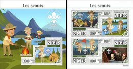 Niger 2021, Scout, 4val In BF +BF - Ongebruikt