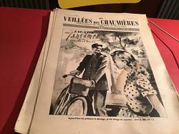 Les Veillées Des Chaumières Paraissant Le Mercredi Et Le Samedi 1951 Facteur Vélo Bicyclette - 1950 - Oggi