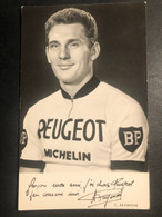 C. Raymond - Peugeot Michelin - Carte / Card - Cycliste - Cyclisme - Ciclismo -wielrennen - Ciclismo