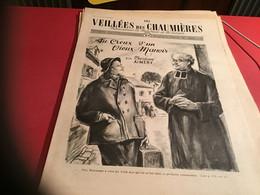Les Veillées Des Chaumières Paraissant Le Mercredi Et Le Samedi 1951 Curé ABBE Homme D'église - 1950 - Oggi