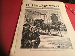 Les Veillées Des Chaumières Paraissant Le Mercredi Et Le Samedi 1951 Calèche Chevaux - 1950 - Oggi