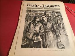 Les Veillées Des Chaumières Paraissant Le Mercredi Et Le Samedi 1951 Homme D'église Curé - 1950 - Oggi