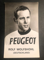 Rolf Wolfshohl - Peugeot Michelin - Carte / Card - Cycliste - Cyclisme - Ciclismo -wielrennen - Ciclismo