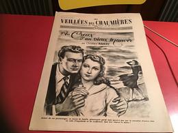 Les Veillées Des Chaumières Paraissant Le Mercredi Et Le Samedi 1951 Barques - 1950 - Oggi