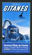 """Rare Sticker Autocollant """"Team Gitanes""""  Course Automobile - F1 - Formule 1 - Formula 1 - Automobilismo - F1"""