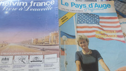 DEAUVILLE SUPER STAR/ 9 ème FESTIVAL AMERICAIN/ANNE D ORNANO //JEAN PIERRE REYNS/FRANCAOIS CAMPAUX /FALCONS / - Allgemeine Literatur