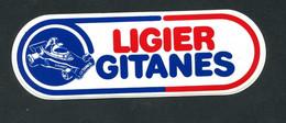 "Rare Sticker Autocollant ""Ligier - Gitanes""  Course Automobile - F1 - Formule 1 - Formula 1 - Automobilismo - F1"