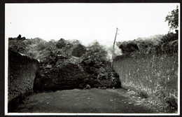 MASCALI Catania Eruzione 1928 Foto F. GALIFI CRUPI Taormina / Eruption Volcan Coulée De Lave - Voir Scan - Andere Steden