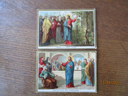 JESUS LA VRAIE VIGNE. ET  MALEDICTION DES PHARISIENS - Andachtsbilder