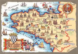 BARRE DAYEZ  - Carte Géographique   De BRETAGNE   - BD N° 1529 E - Ohne Zuordnung