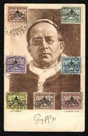 """VATICANO - 1939 - CARTOLINA CON SERIE """"SEDE VACANTE"""" - 20-02-39 - Cartas"""