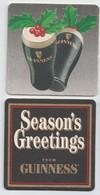 Irlande Guinness Recto / Verso Thème Noël - Sotto-boccale