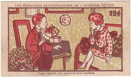 Chromo - Image : Les Aventures Extraordinaires De L'intrépide TOTOR N° 124 : Chocolats Fins Le Rhône - Sonstige