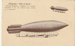 *** MILITARIA ***  Dirigeable Ville De Paris - Neuve TTB - Luchtschepen