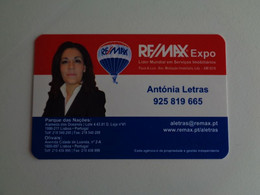 Remax Expo Portugal Portuguese Pocket Calendar 2012 - Small : 2001-...