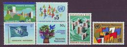 UNITED NATIONS Vienna 1-6,unused - VN
