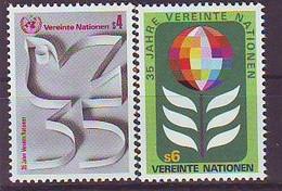 UNITED NATIONS Vienna 12-13,unused - VN