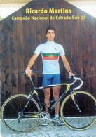 Cycling Cyclisme Ciclismo Ricardo Martins Portugal Portuguese Pocket Calendar 2005 - Small : 2001-...